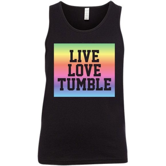Live Love Tumble Rainbow Youth Jersey Tank
