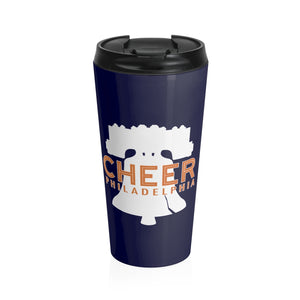 Cheer Philadelphia Navy 20oz Tumbler