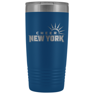 Cheer New York Tumbler