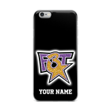 F3T Faux Glitter iPhone Case