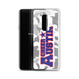 Cheer Austin Camo Samsung Case