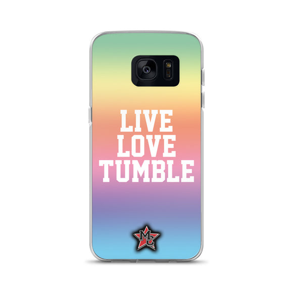 Live Love Tumble Samsung Case