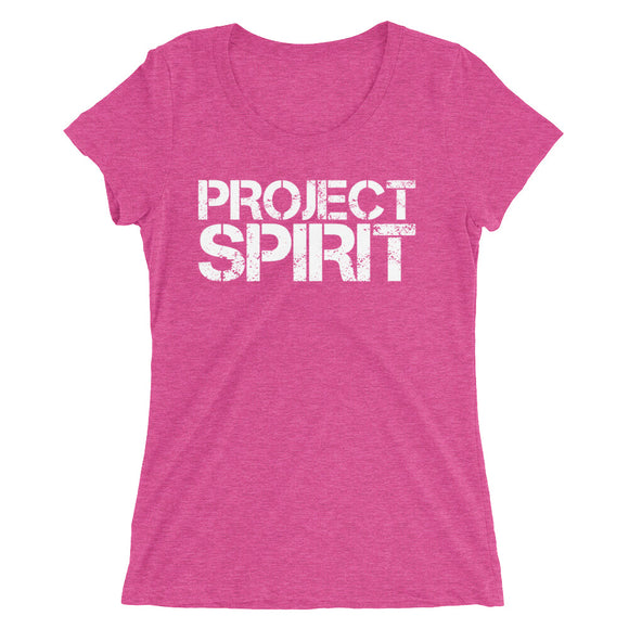 Project Spirit Logo Ladies' short sleeve t-shirt