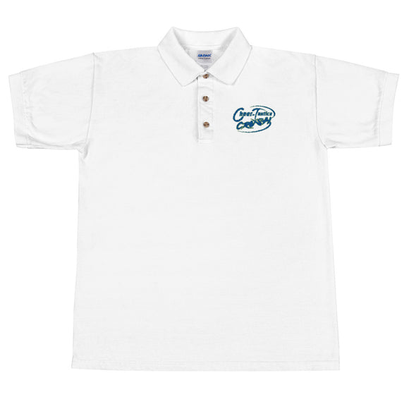 Crush Logo Embroidered Polo Shirt