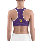 F3T Purple Sports bra