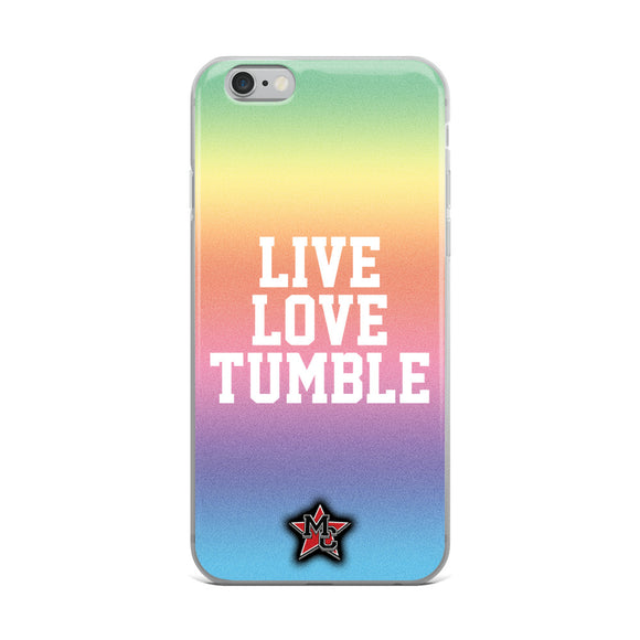 Live Love Tumble iPhone Case