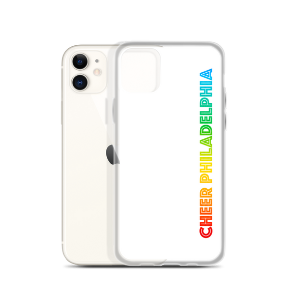 Rainbow Logo iPhone Case