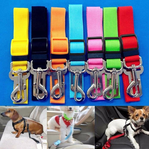 Adjustable Pet Car Seat Belt - Pets Utopia