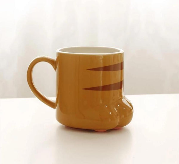 Porcelain Cat Paw Mugs - Pets Utopia