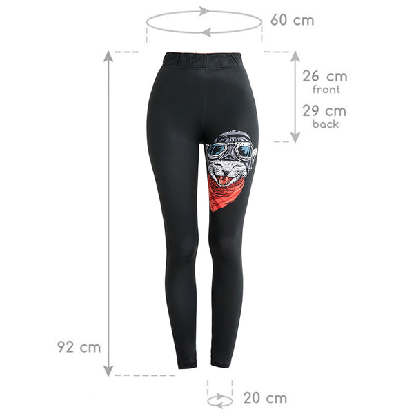 Soft Slim Cat Fitness Legging - Pets Utopia