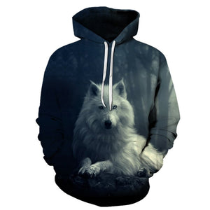 Unique Wolf 3D hoodies - Pets Utopia