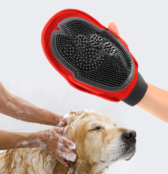 Cats & Dogs Fur Grooming Glove - Pets Utopia