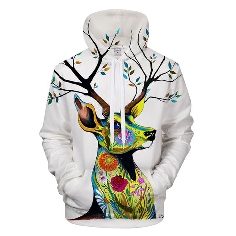 King of the Forest by Pixie Cold Art Hoodie - Pets Utopia