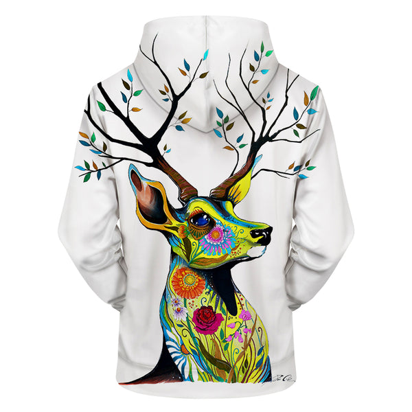 King of the Forest by Pixie cold Art 3D Hoodie - Pets Utopia