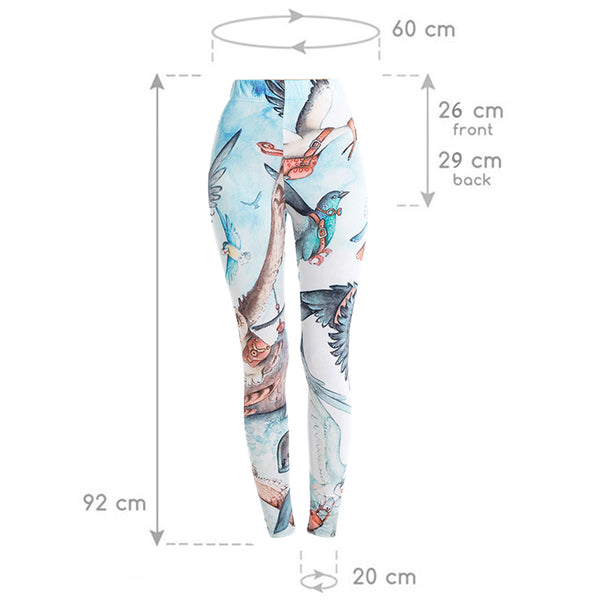 Bird Soft Fitness Legging - Pets Utopia