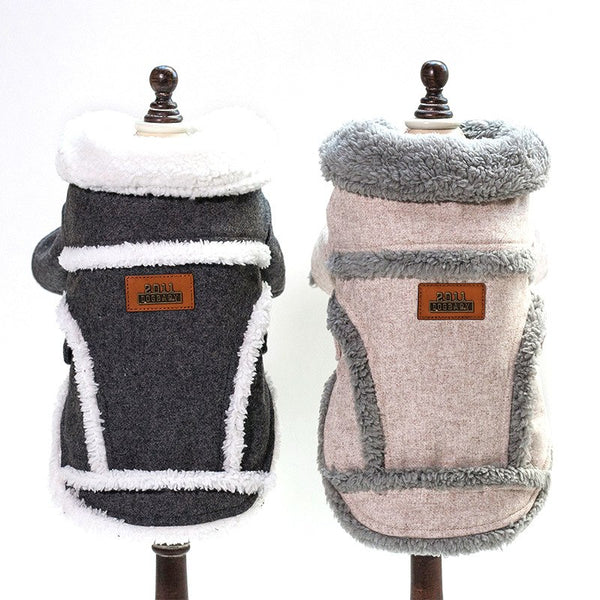 Thick Winter Cotton Dog Jacket - Pets Utopia