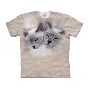 Funny Cat T-Shirt - Pets Utopia