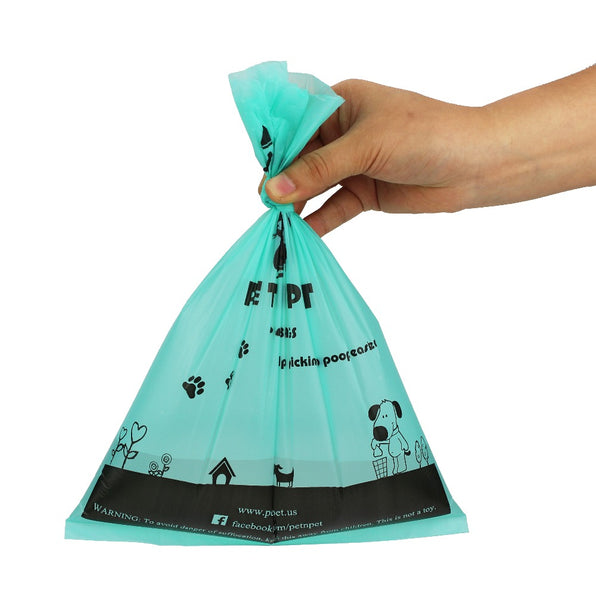 Earth-Friendly Oxo-Biodegradable Dog Poop Bags - Pets Utopia