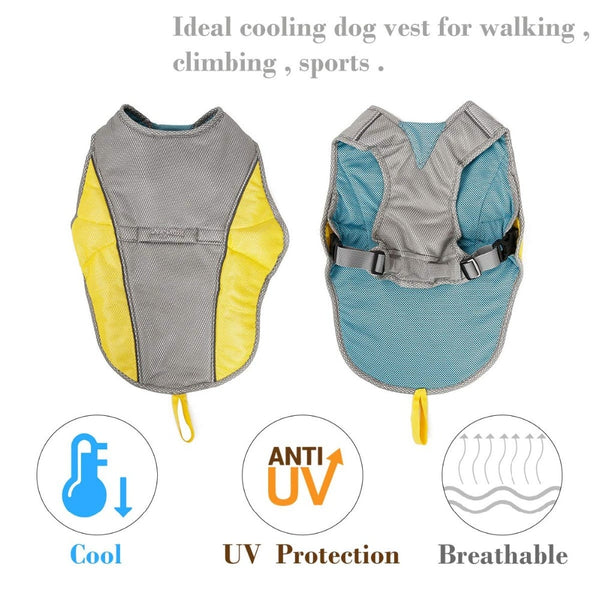 Summer Dog Cooling Vest - Pets Utopia