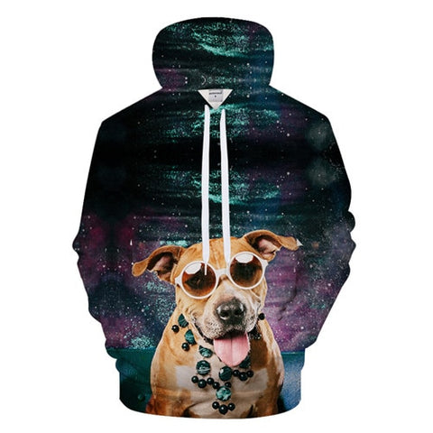 Cartoon Dog Hoodies - Pets Utopia