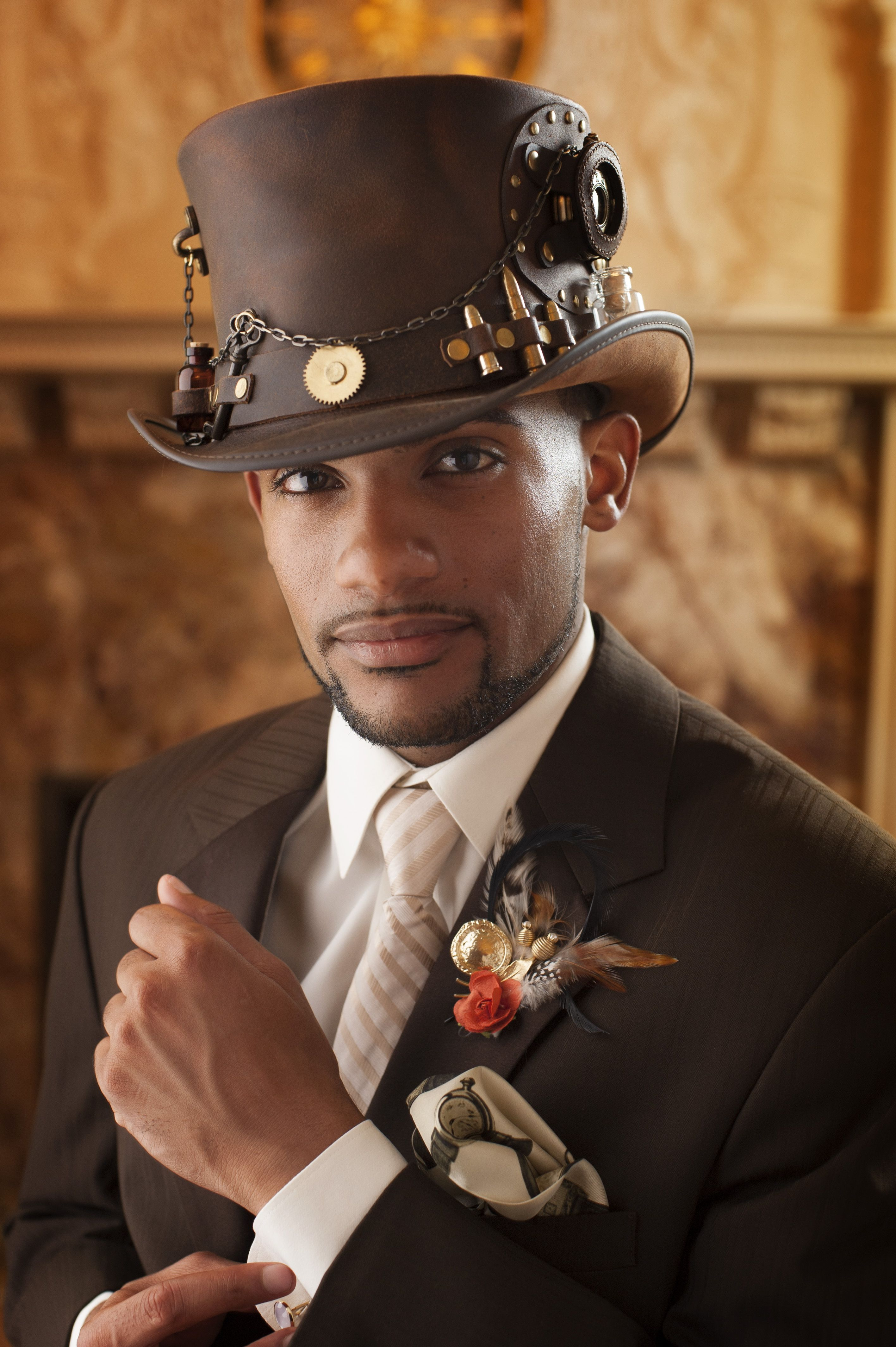 cf079b2db8 8 Steampunk Outfit For Guys To Get That Steamy Look