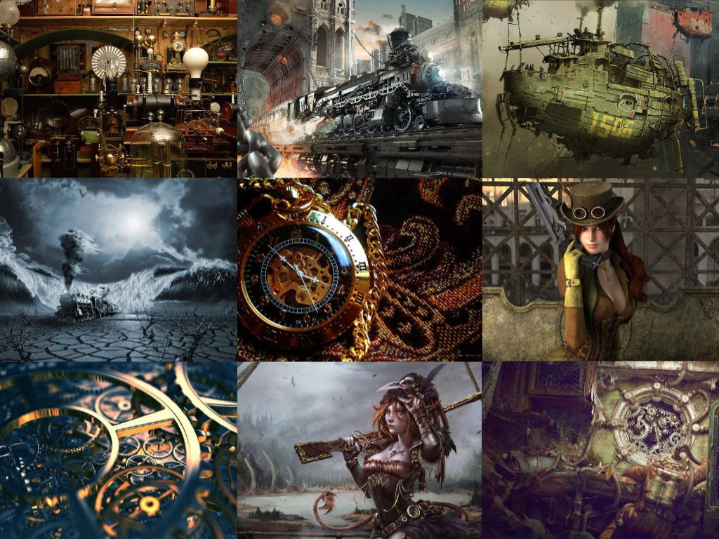 Get 37 FREE STEAMPUNK High Resolution WALLPAPERS