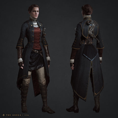 Lady Igraine The Order 1886 steampunk outfit
