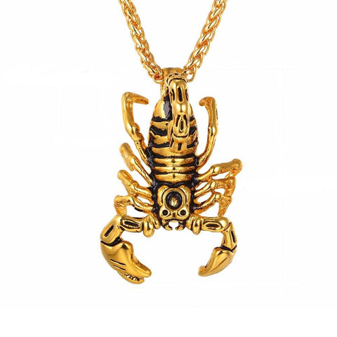 Scorpion Steampunk Necklace