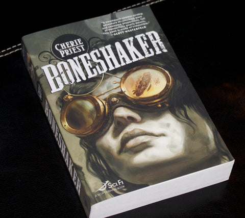 boneshaker book cover photo steampunk style