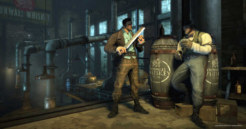 sony playstation 4 dishonored definitive edition screen