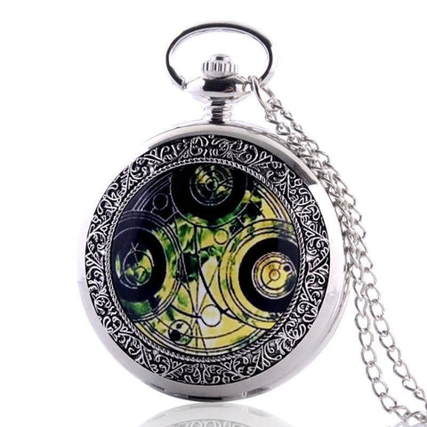 Full hunter steampunk pocket watch