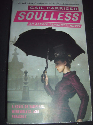 gail carriger book soulless