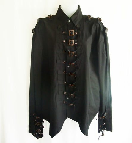 steampunk shirt for men