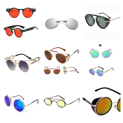 mens steampunk sunglasses collection