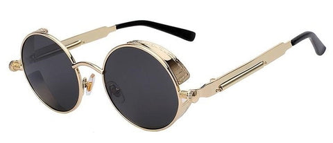8f7dcc50ccacc Round Steampunk Sunglasses. These are probably the most elegant of the  types and frequently found on the market. Whether we are talking about  vintage