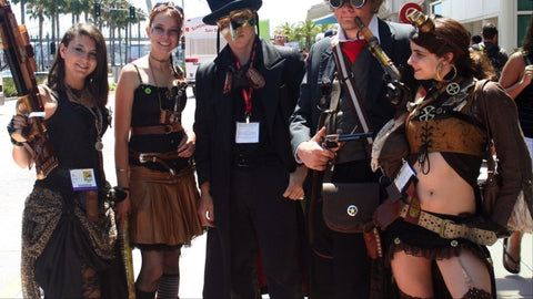 Image result for steampunk conventions