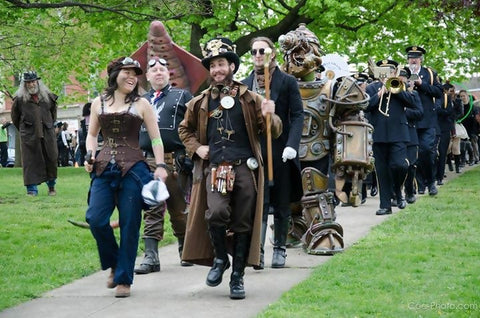 steampunk festival photo