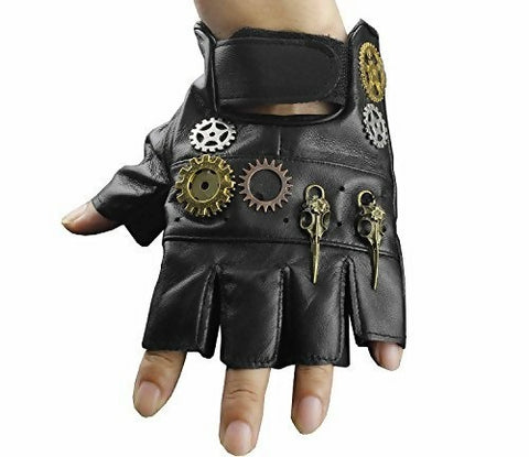 men steampunk gloves
