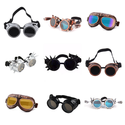 steampunk goggles collection