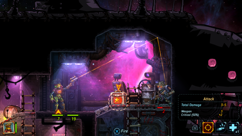 ps4 steamworld screeenshot