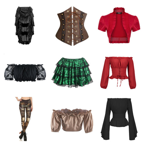 women steampunk clothing