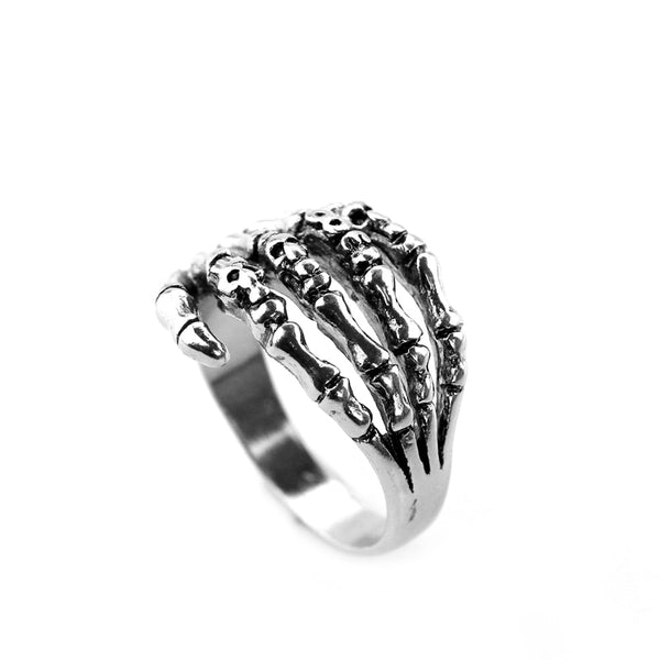 Bone Hand Steampunk Ring