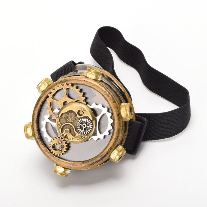 Buy Steampunk Eye Patch With Gears Online