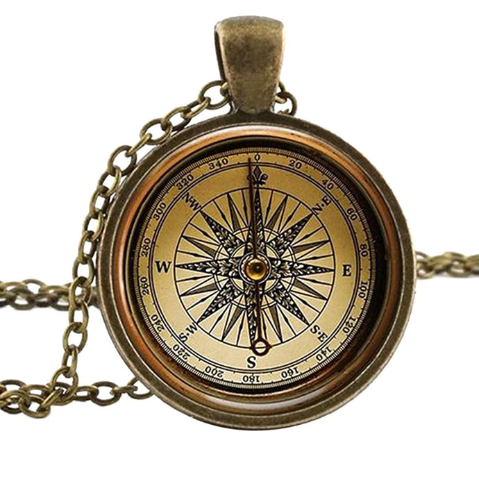 Buy Steampunk Compass Necklace Online