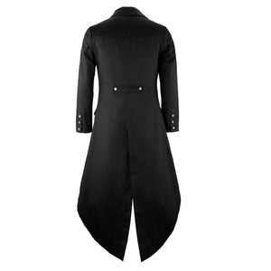 Buy Men's Steampunk Long Tailcoat With Vest Online