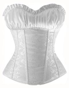 Steampunk Luxury Silk Corset