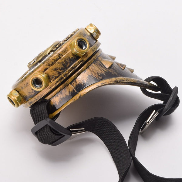 Steampunk Eye Patch With Gears