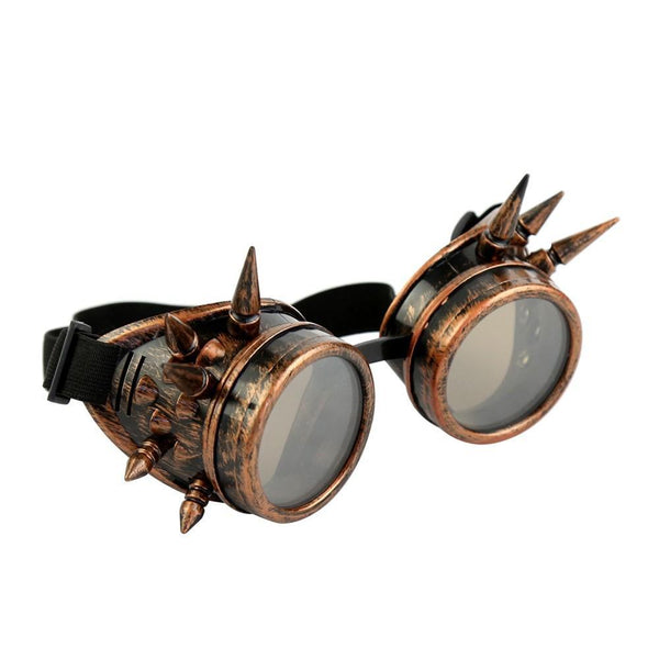 Steampunk Goggles With Spikes