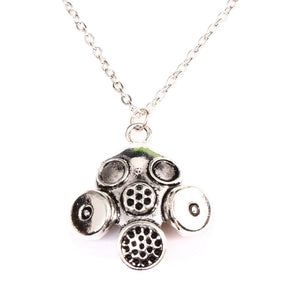 Buy Gas Mask Steampunk Necklace Online
