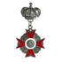 Steampunk Vintage Crown Cross Medal